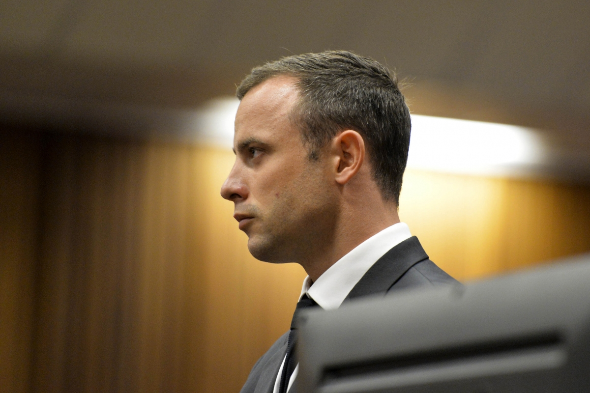 Michell Burger, a neighbour of Oscar Pistorius, said she heard