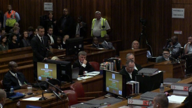 Pistorius Pleads Not Guilty to Murder as Trial Starts