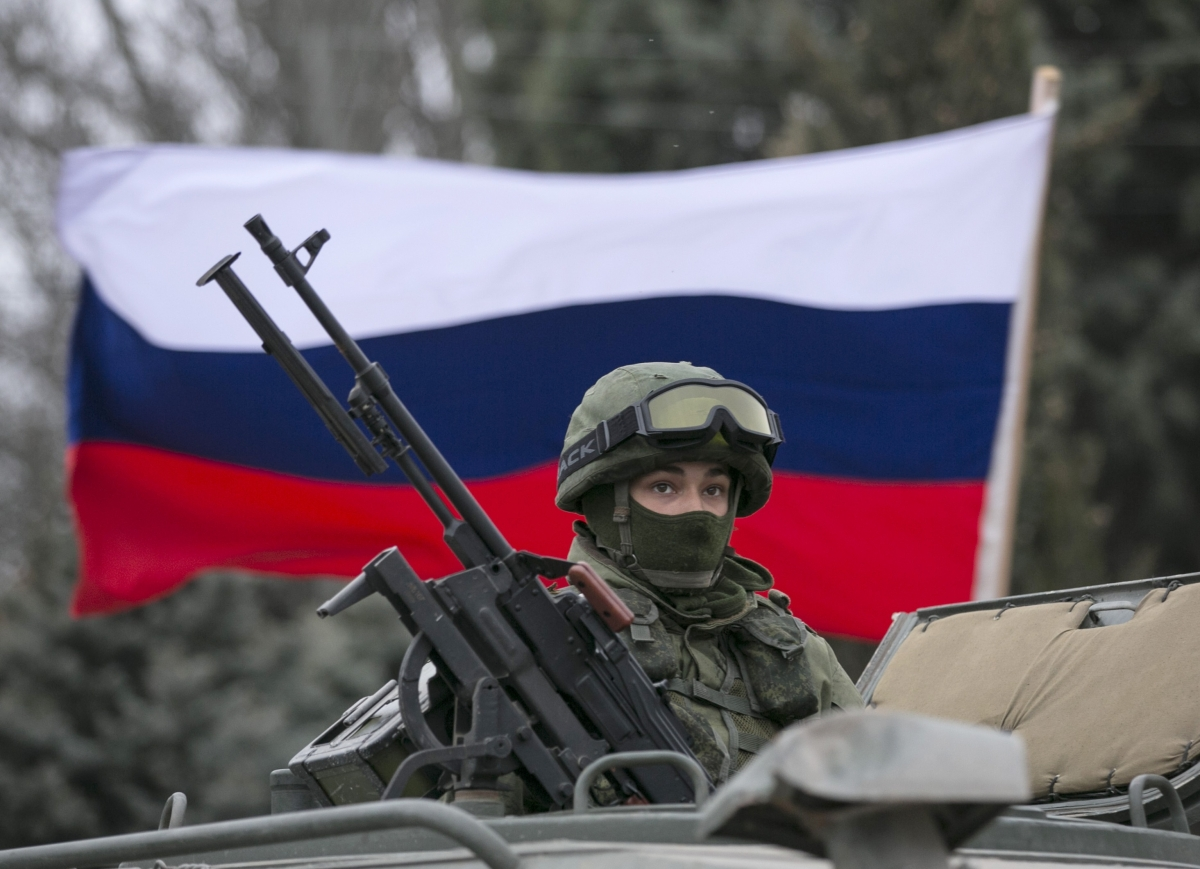 russain troops crimea