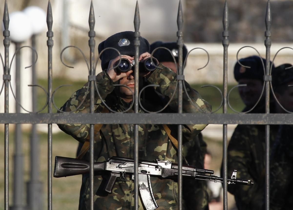 Ukraine soldier crimea