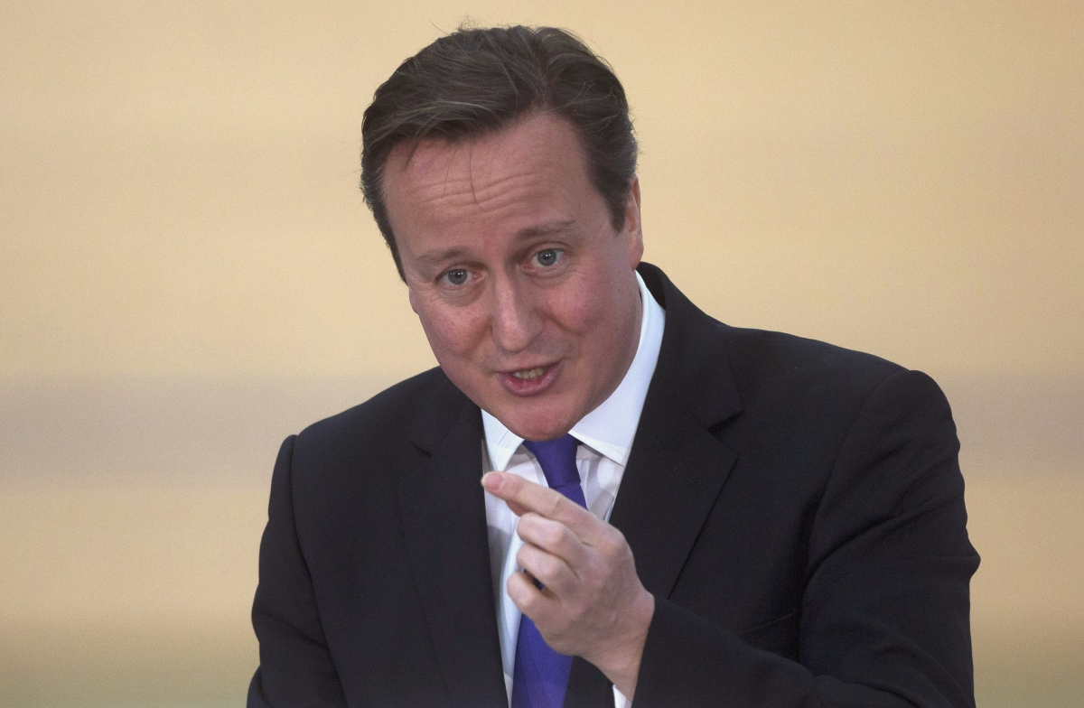 UK Prime Minister David Cameron to Slash Tax for the Poorest Britons