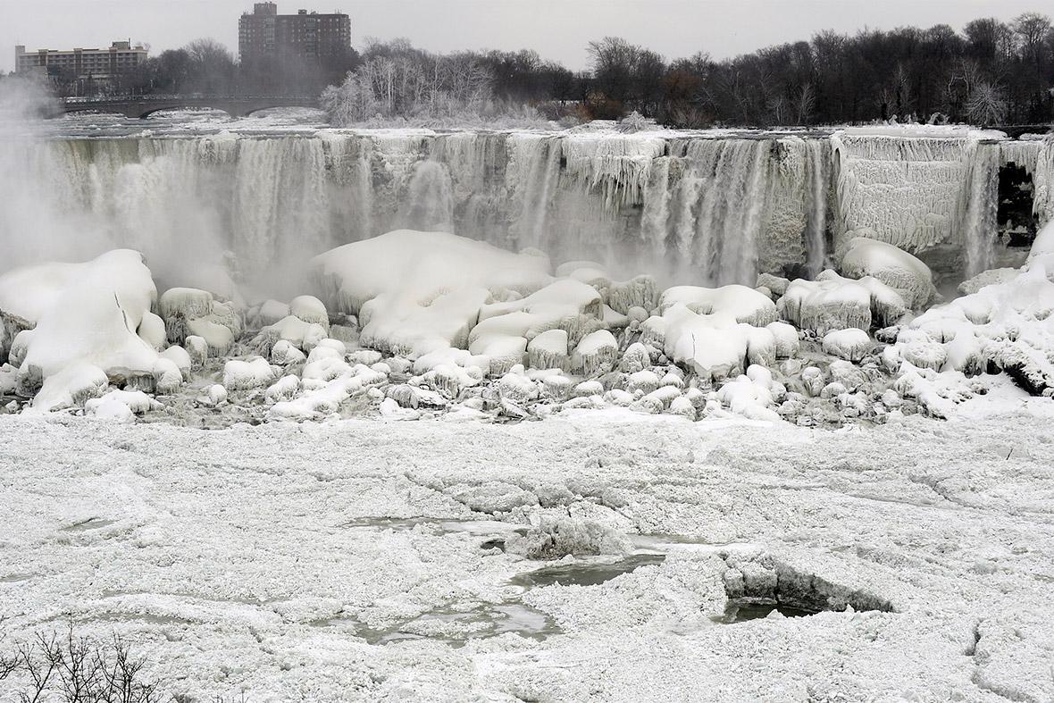 January Niagara