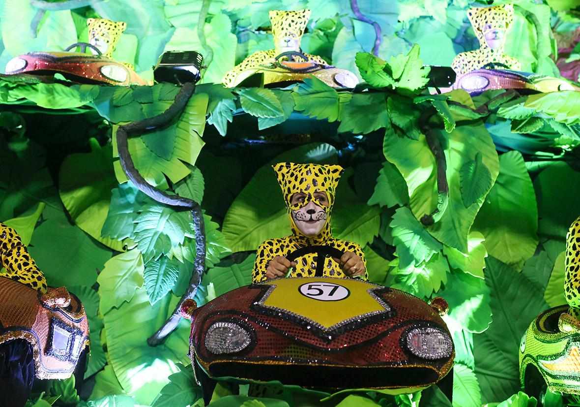 carnival leopard