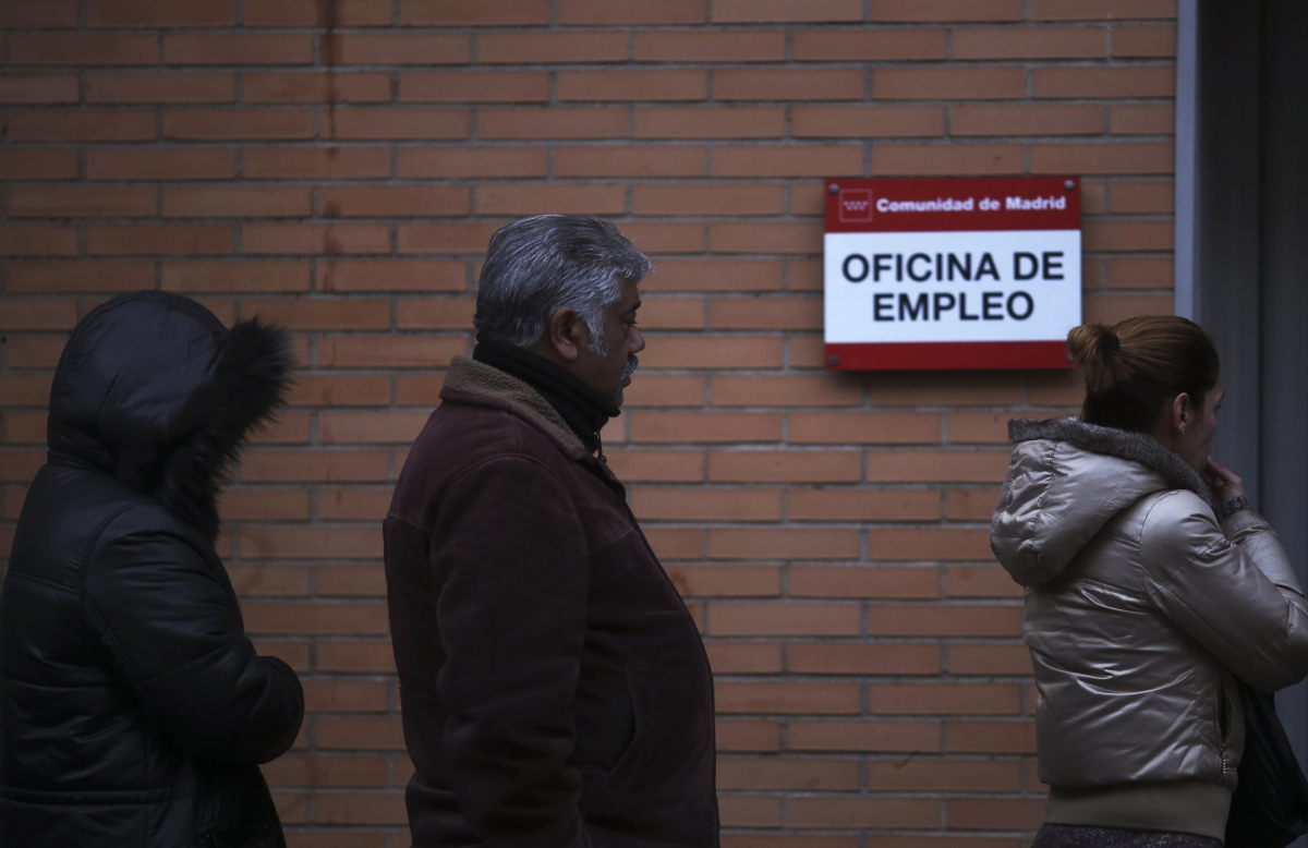 Spain unemployment centre