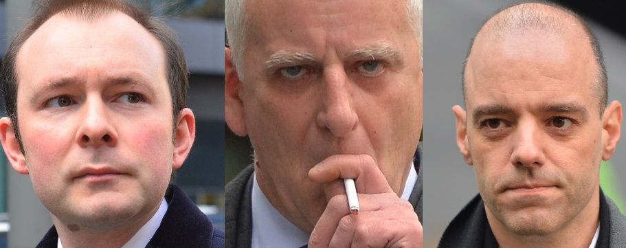 Libor Fixing Scandal: 'Vast Amount' of Evidence Stacks Up Against 3 ex-Barclays Traders (L-R) Jonathan Mathew, Peter Johnson, and Stylianos Contogoulas