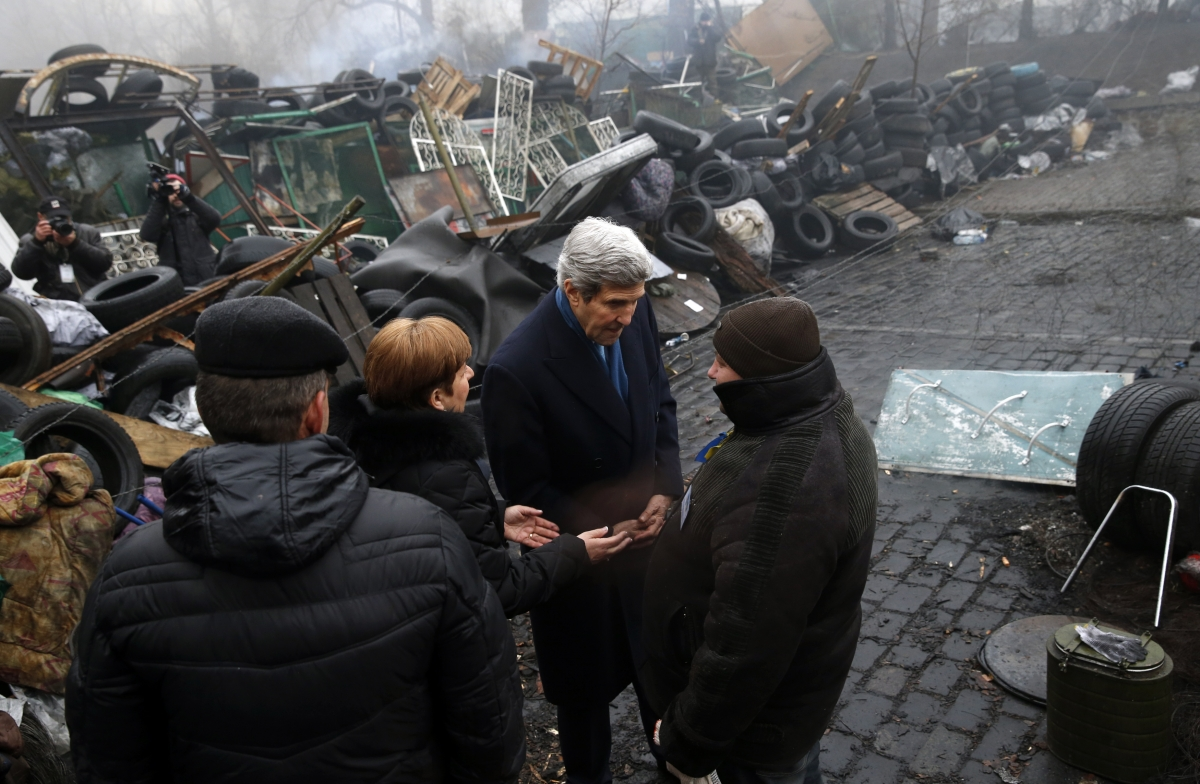 Kerry in Kiev