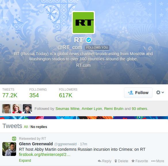 Glenn Greenwald RT Abby Martin Outburst Crimea Ukraine