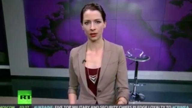 Russia Today Anchor Abby Martin Condemns Crimea Invasion