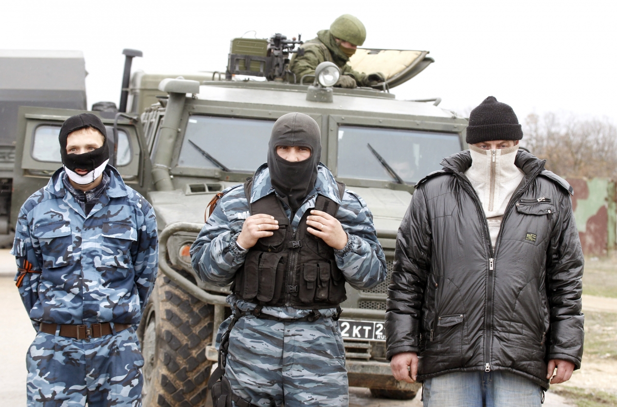 Ukraine unrest and Russian intervention in Crimea