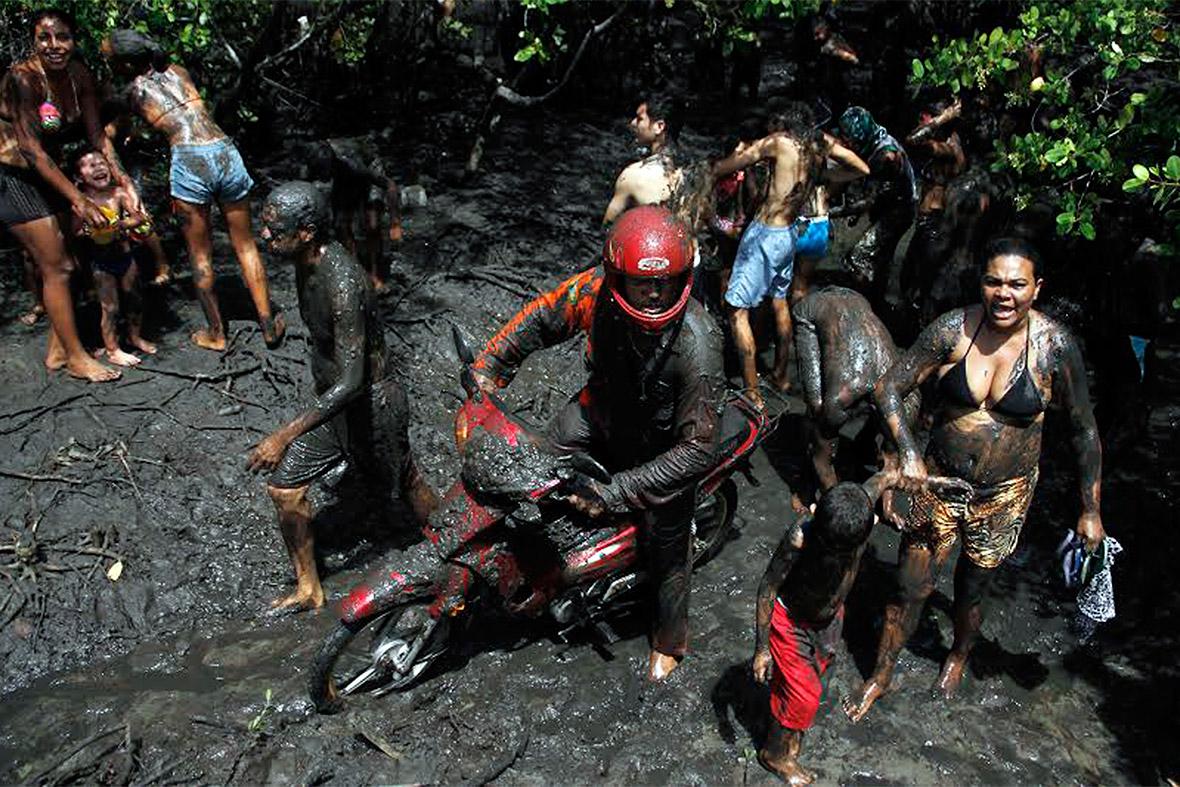 carnival mud