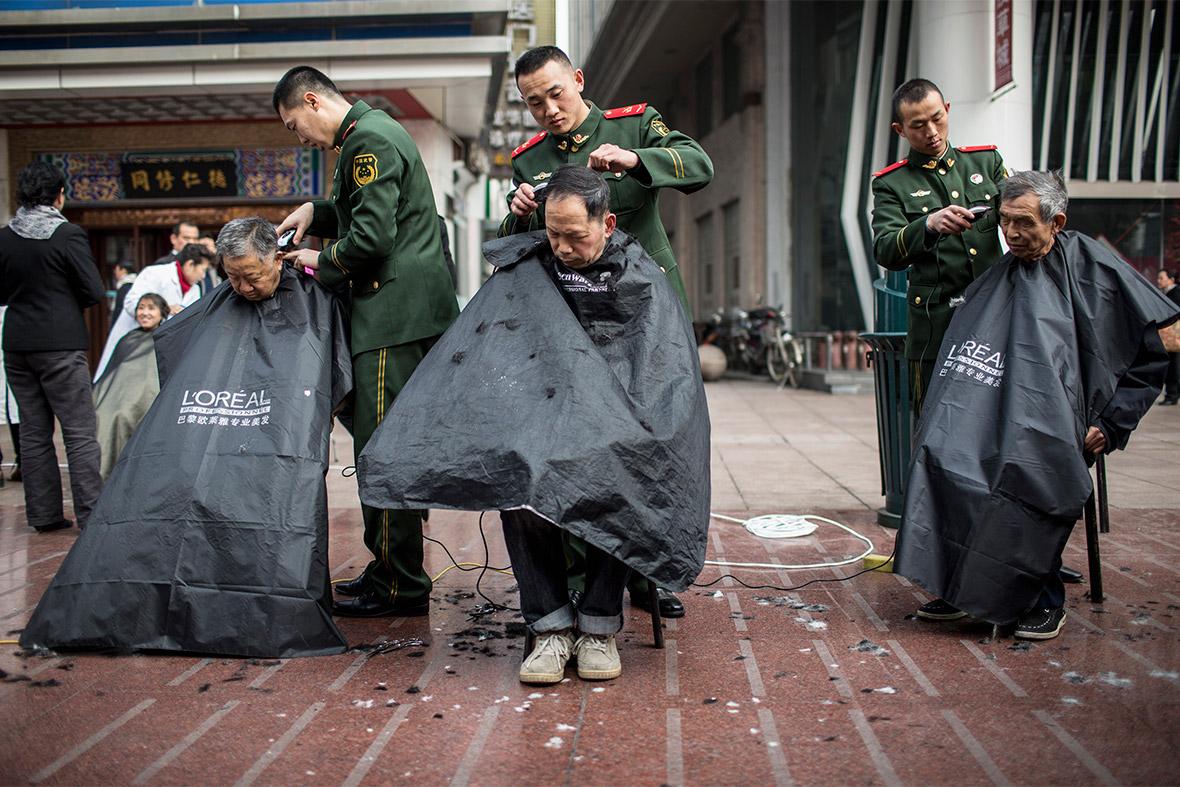 china hair cuts