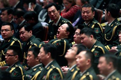 china yawn