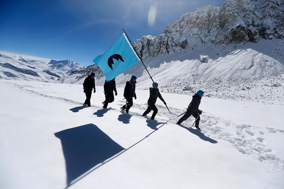 greenpeace glacier