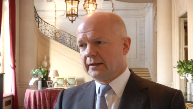 Hague Hopes for Russia and Ukraine Direct Communication