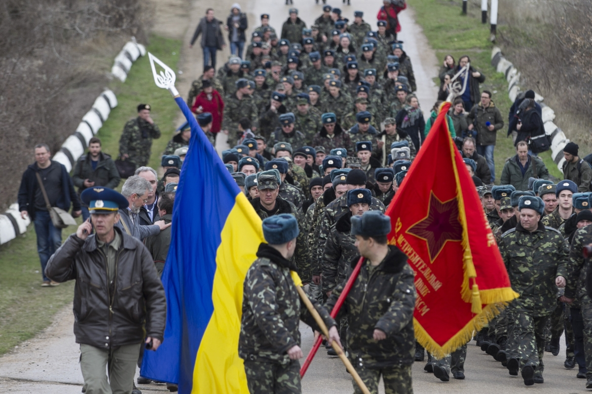 russia ukraine crimea invasion