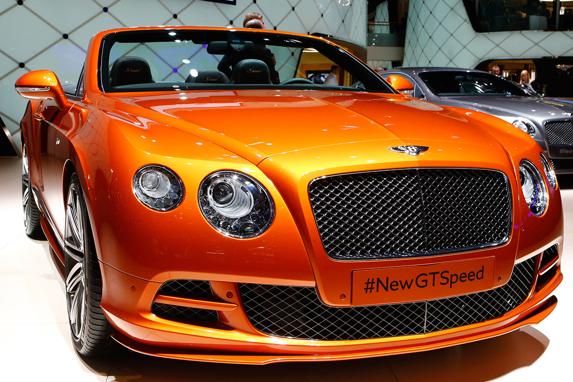 Bentley Continental GTSpeed convertible