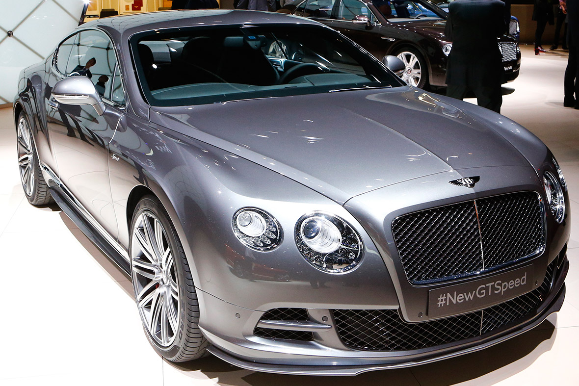 Bentley Continental GTSpeed coupe