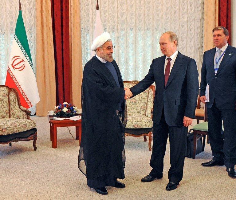 Rouhani - Putin