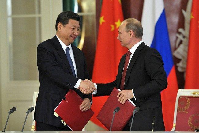 Putin- Xi Jinping