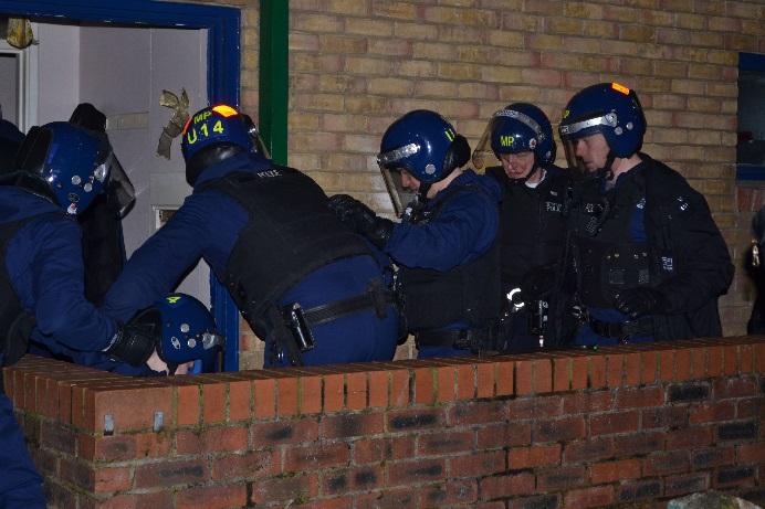 Met police drug raid