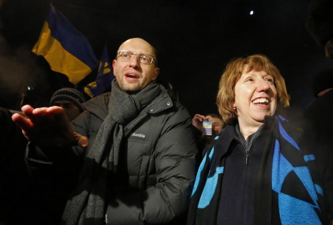 EU Catherine Ashton Kiev Ukraine