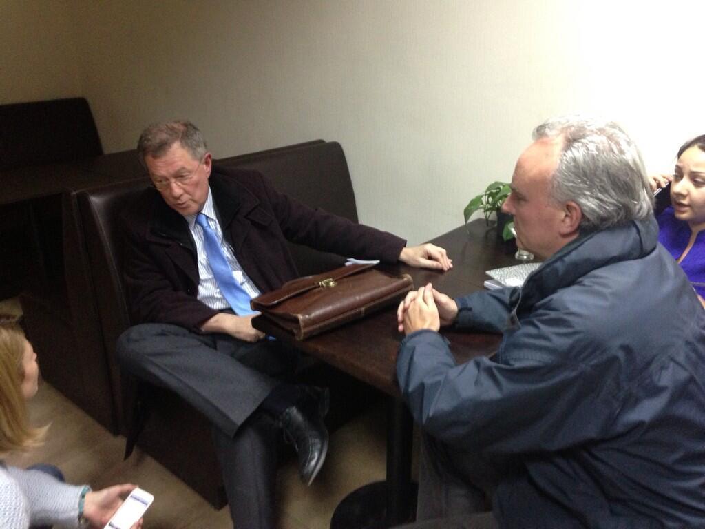 Robert Serry UN Envoy Ukraine Threatened Crimea