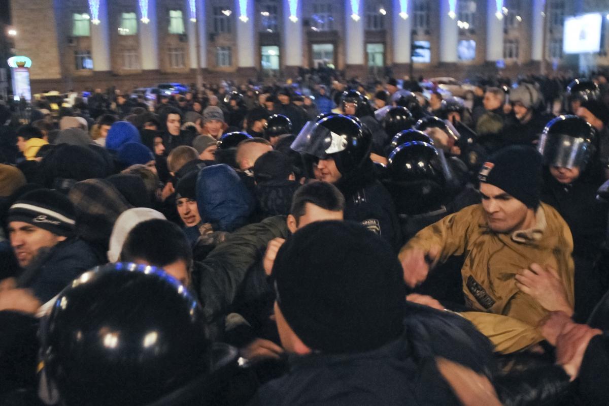Donetsk protests
