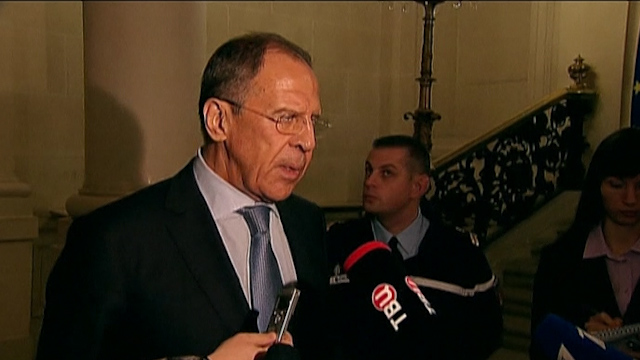 Russian and Ukraine Foreign Ministers Hold Talks