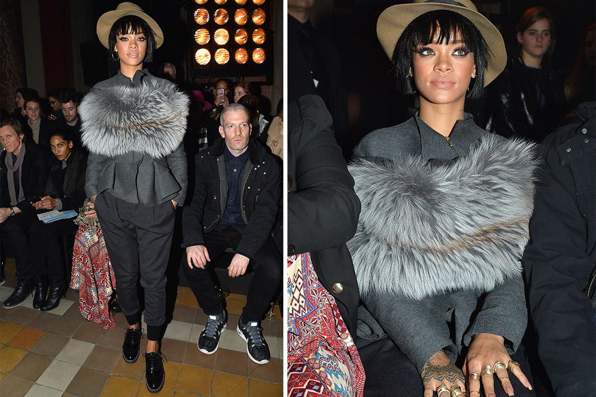 Rihanna Lanvin