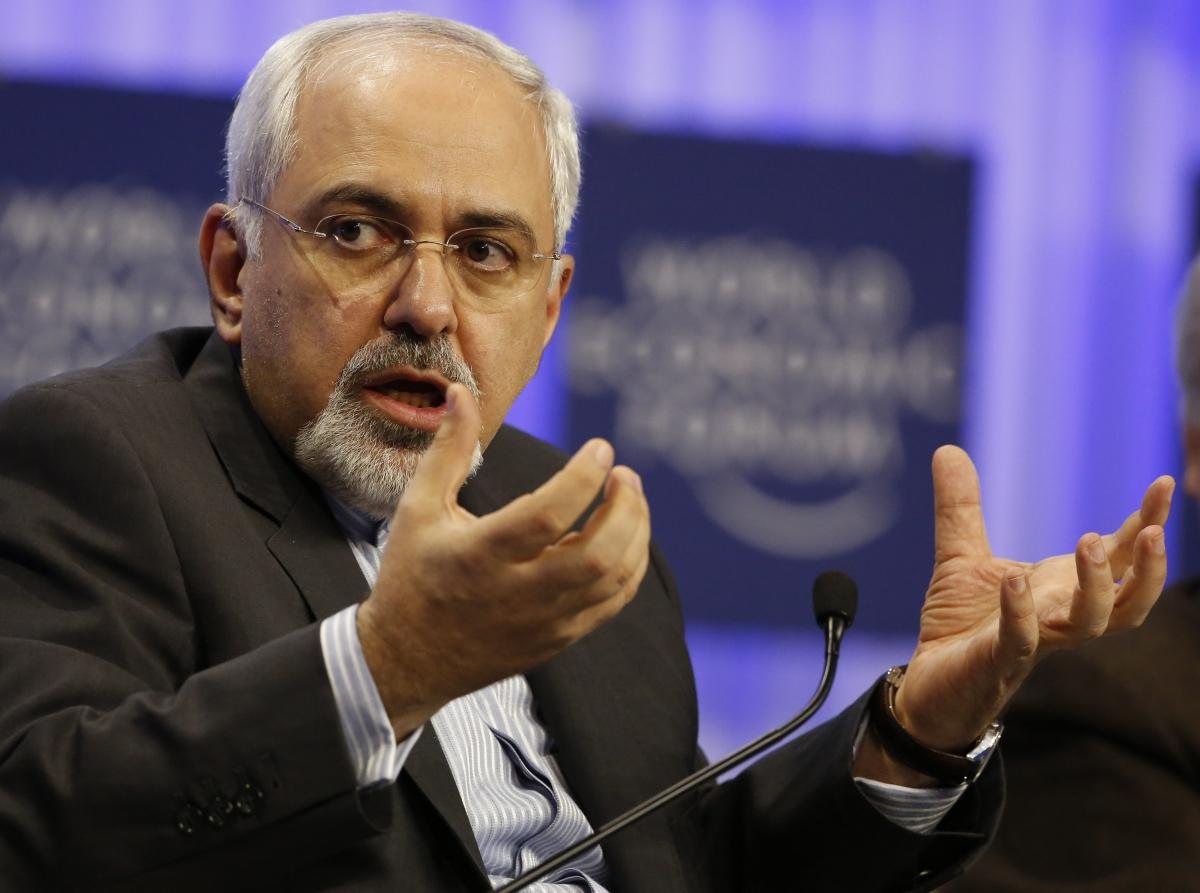 Zarif Iran Israel Rocket Gaza Syria Sudan Ship