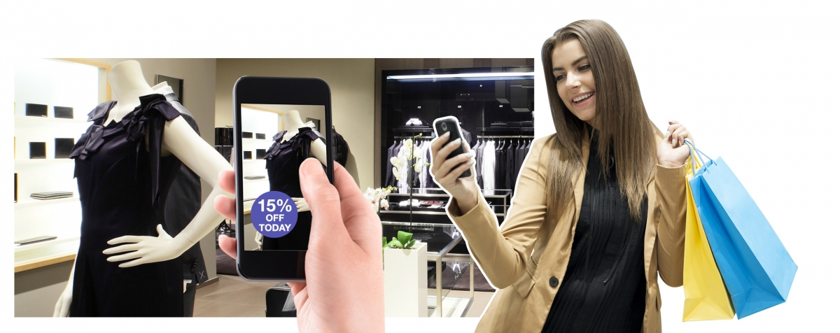 You could receive special offers on your phone while shopping with PowaTag