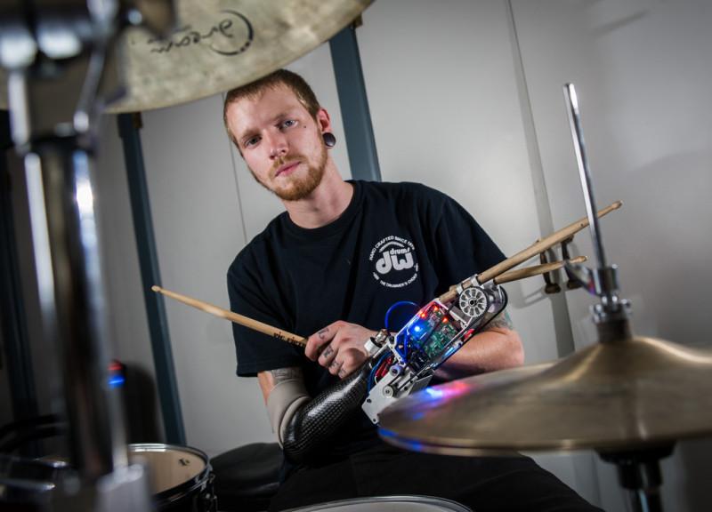 Drummer Jason Barnes
