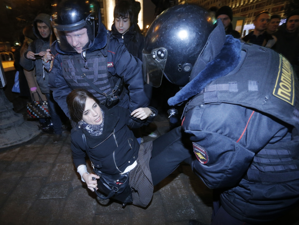 Pussy Riot Sochi Winter Olympics Russia Beaten Burned