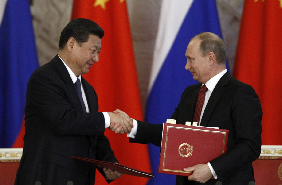 Russia has reacted quickly to the prospect of further sanctions by moving forward with a gas deal in China.