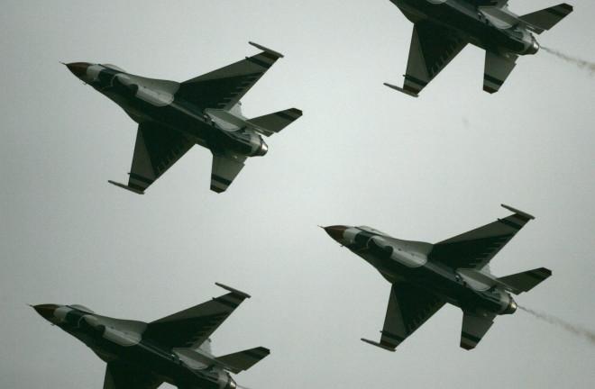 Poland United States F-16 Base Russia Ukraine Crimea
