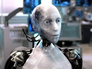 Sonny, a sentient humanoid robot from the Will Smith film