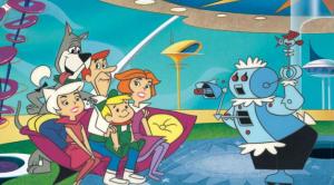 The Jetsons cartoon featuring a robot butler
