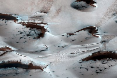spring on Mars