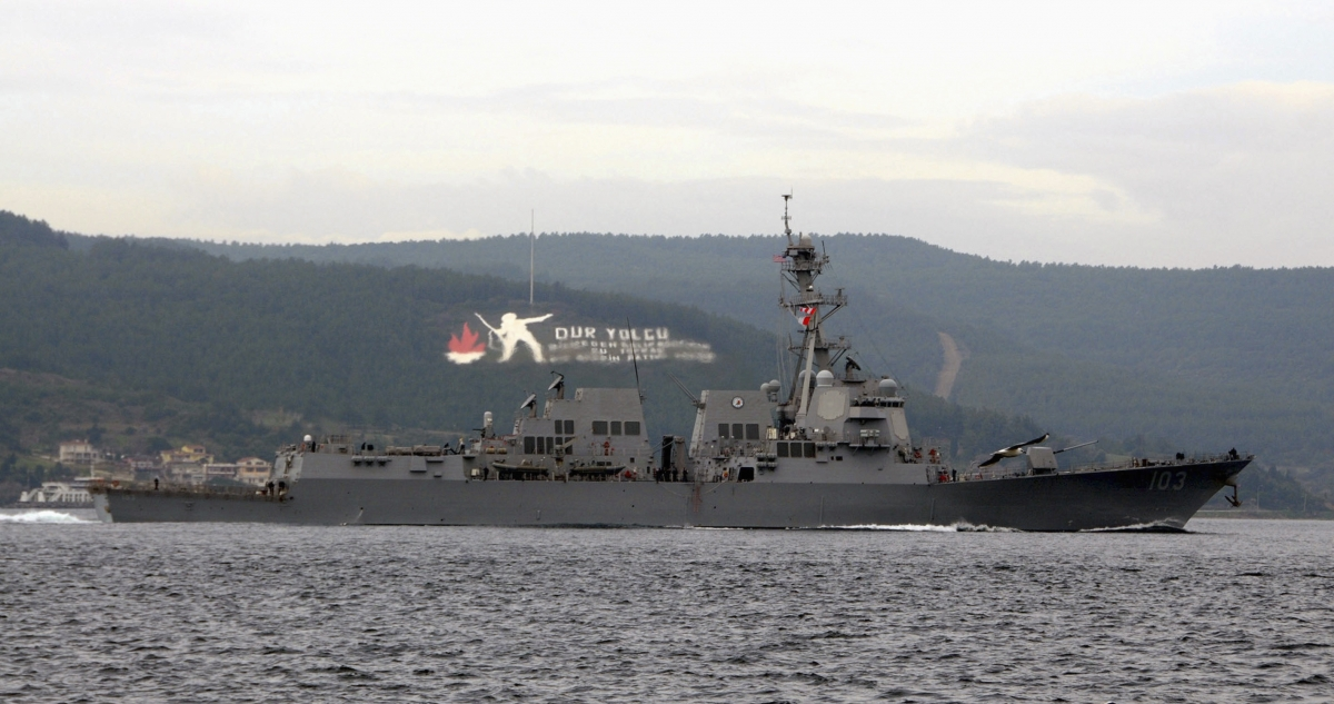 USS Truxtun Black Sea