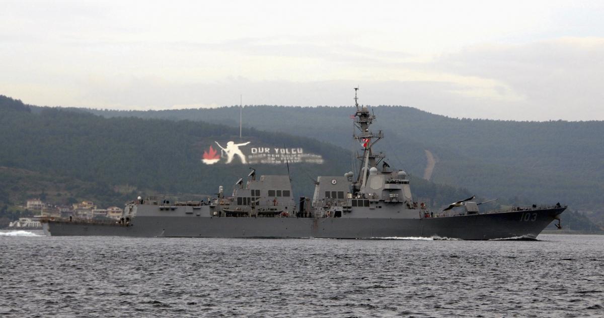 USS Truxtun Black Sea