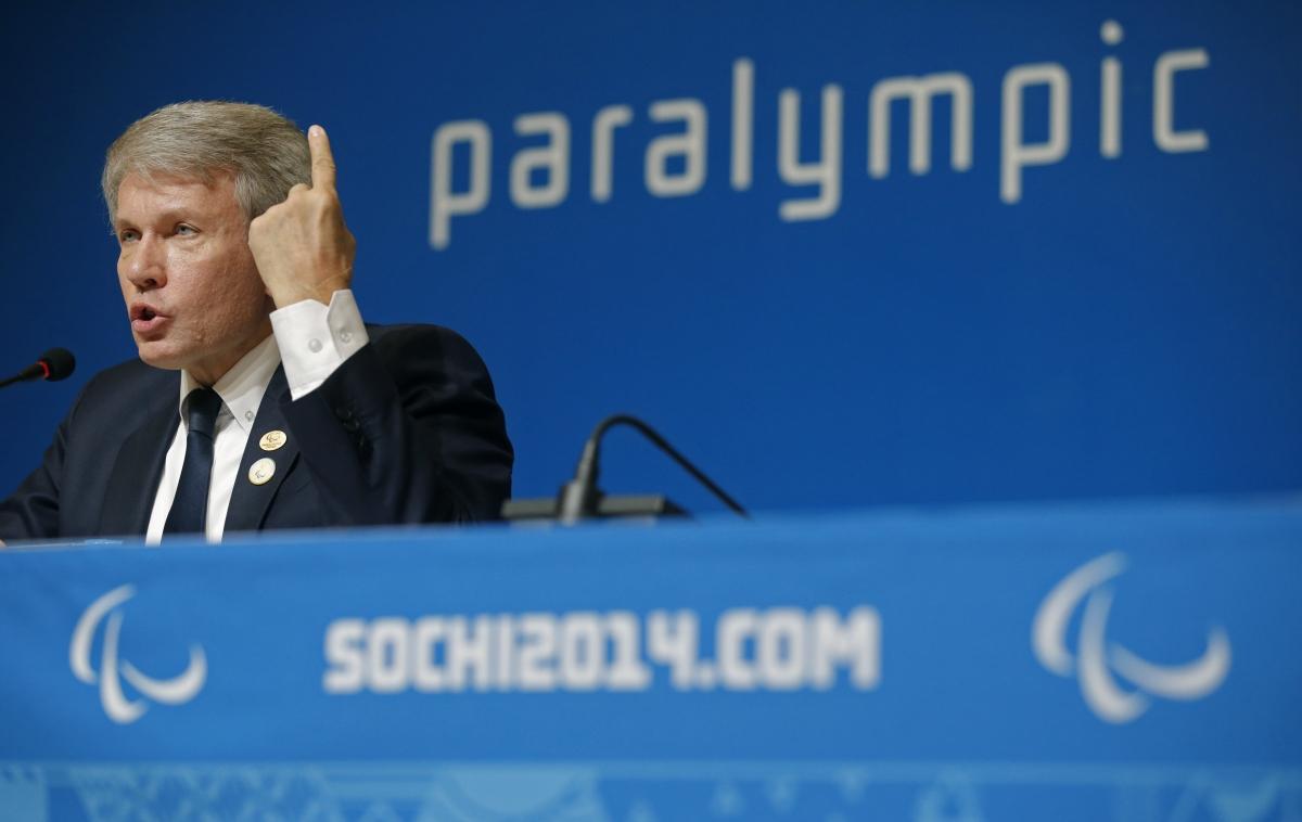 Valeriy Sushkevich Ukraine Sochi Paralympics