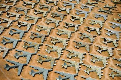 B-52 Bone Yard, Tuscon, Arizona, 2012