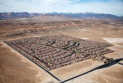 Desert Housing Block, Las Vegas, NV 2009