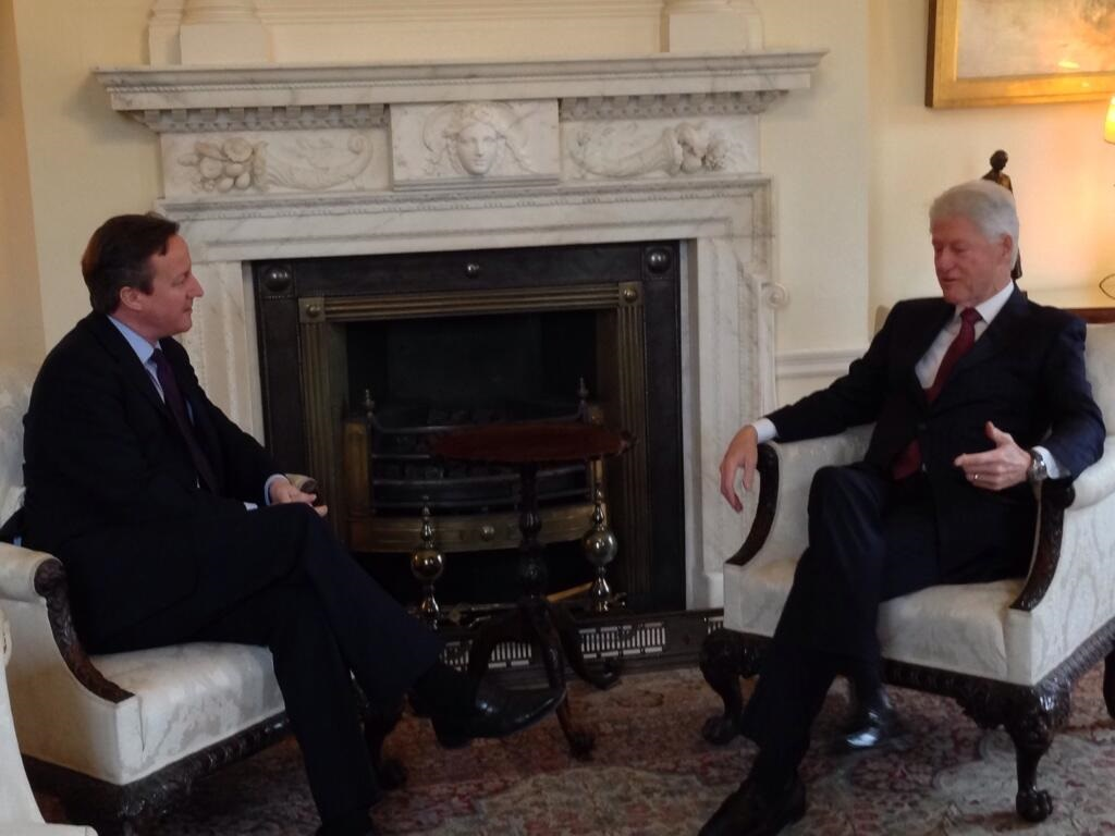 Cameron and Clinton