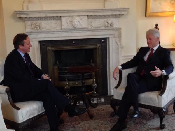 Cameron and Clinton