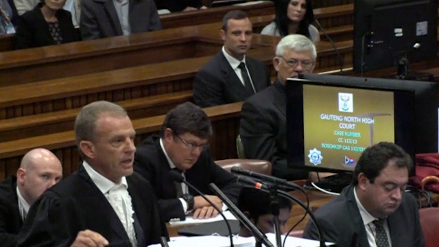 Former Girlfriend Says Pistorius Always Carried a Gun
