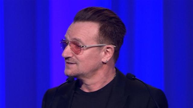 Light-Hearted Bono Pleads For European Unity