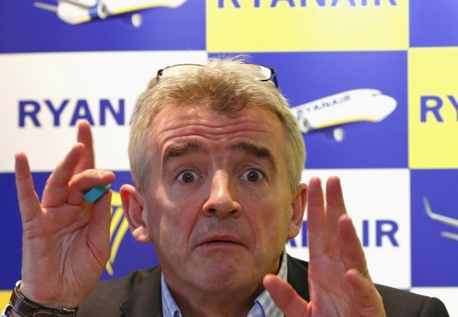 Ryanair chief Michael O'Leary has called Virgin Airline founder Sir Ricahrd Branson