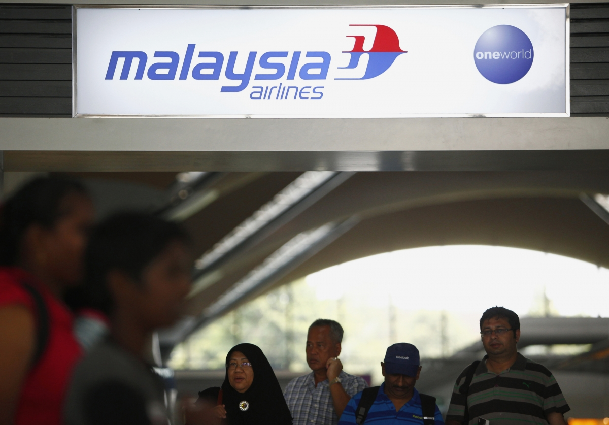Missing Malaysian airlines flight crash