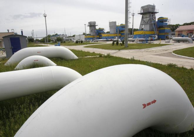 Gas Pipe Mryn Ukraine